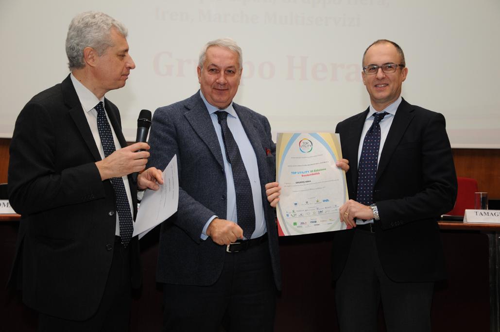 DSC_0301_Hera Vincitore del Premio Sostenibilità Top Utility III Edizione